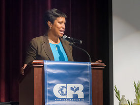 keynote speaker (DC Mayor Muriel Bowser)