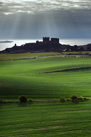 Bamburgh Castle Newcastle Lightning