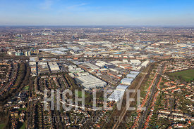 Aerial Photography Taken In and Around Brent, UK