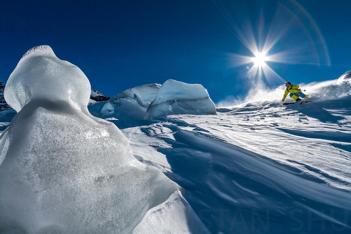 Snow, Ice and Ski with Enak Gavaggio