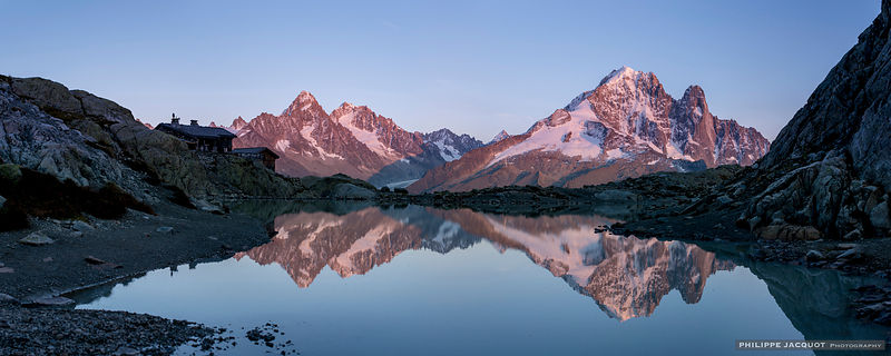 Sunset over the Lac Blanc 3 - Chamonix Mont-Blanc