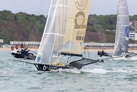 Be Light, HUN 18, 18ft Skiff, Euro Grand Prix Sandbanks 2016, 20160904192