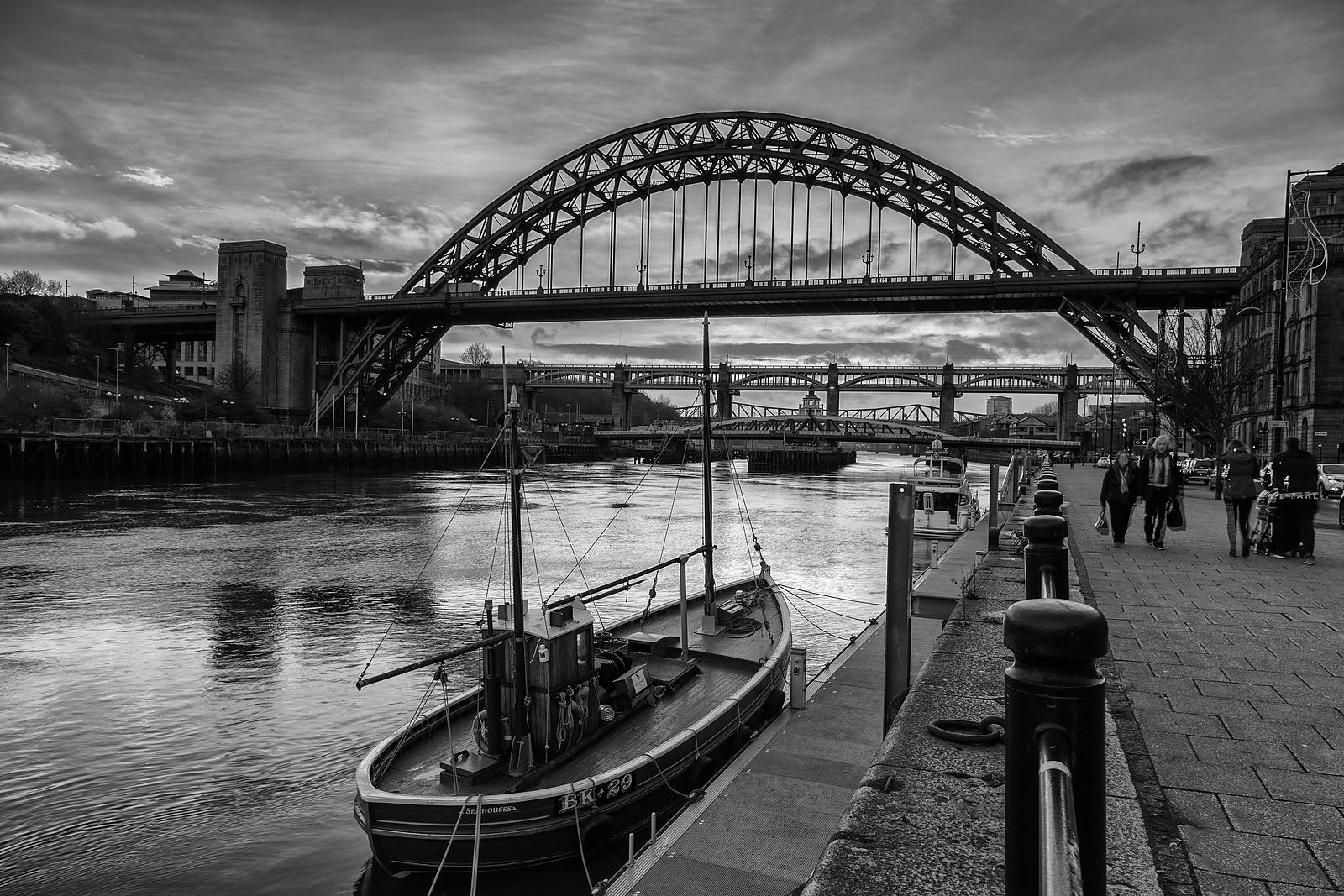 Moored on the Tyne