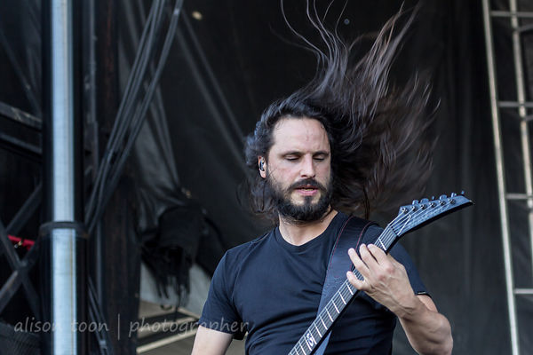 Gojira at Chicago Open Air 2016 photos