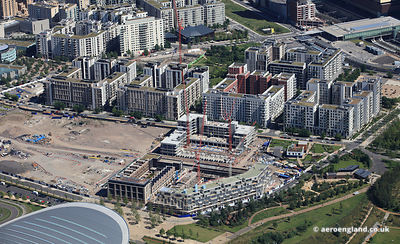 Chobham Manor development  in the Queen Elizabeth Olympic Park in Stratford, London