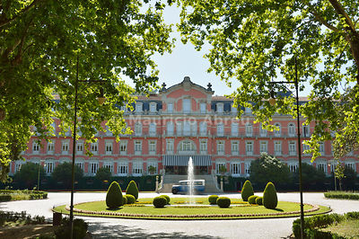 Vidago Palace Hotel, dating back to 1910 and commissioned by King Carlos I. Vidago, Trás-os-Montes, Portugal
