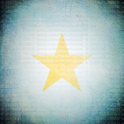 yellow_star_grungy_blue_background2