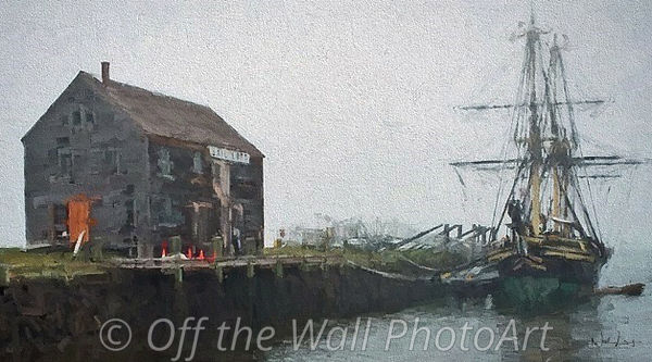 FriendShip at Derby Wharf 20 x 36 only
