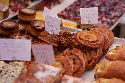 Pastries at Farmer's Market