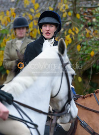 Emily-Rose Perez-Fragero at the meet - The Cottesmore at Knossington 22/11