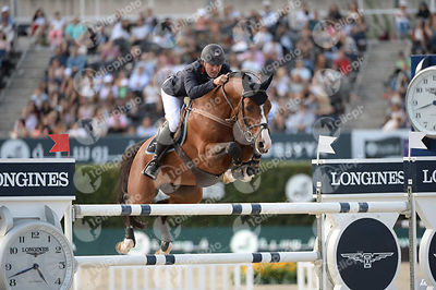 Joe CLEE ,(GBR), UTAMARO D ECAUSSINES during Longines Cup of the City of Barcelona competition at CSIO5* Barcelona at Real Club de Polo, Barcelona - Spain