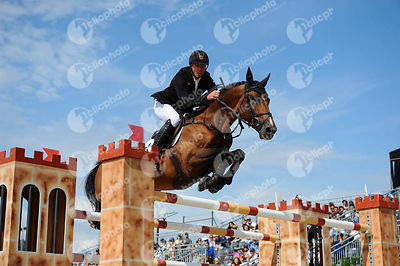 Jur VRIELING ,(NED), CARRERA VDL during Longines Cup of the City of Barcelona competition at CSIO5* Barcelona at Real Club de Polo, Barcelona - Spain