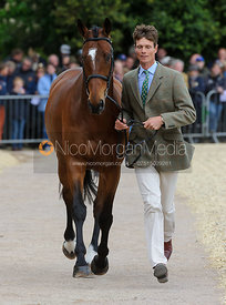 William Fox-Pitt and PARKLANE HAWK - First Horse Inspection, Mitsubishi Motors Badminton Horse Trials 2014