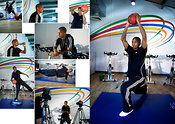 Ashley Young workout