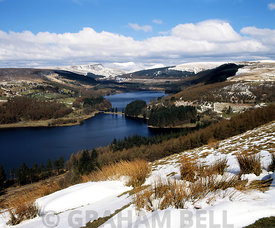 Pontsticill Reservoir, Brecon Beacons National Park, Powys, Wales, UK.