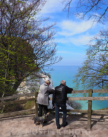On the top of Møns Klint
