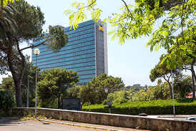 ENI headquarters, EUR, Rome