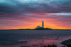 St. Mary's Lighthouse Morning