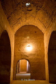 The old prison, Prison de Kara in Meknes, Morocco