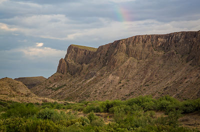 Rainbow Over the Rio Grande