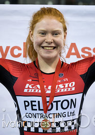 U17 Women Individual Pursuit Podium. Ontario Track Championships, Mattamy National Cycling Centre, Milton, On, March 3, 2017