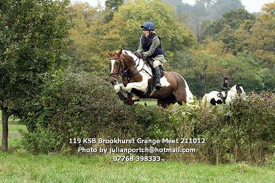 2012-10-21 KSB Brookhurst Grange Meet photos