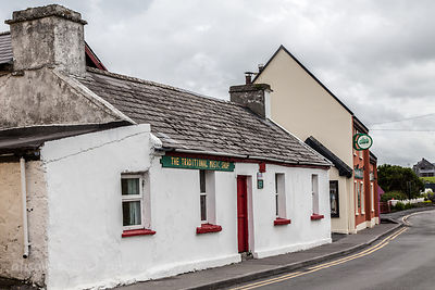 Traditional music shop, Doolin village, County Clare, Ireland