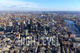 Aerial Photography Taken In and Around the City of London, UK