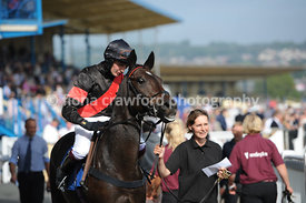 24th Sept 2013 2.20pm Mares Novices Hurdle with winner Top Totti