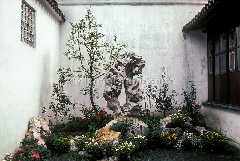 The Humble Administrator's Garden in Suzhou, China.