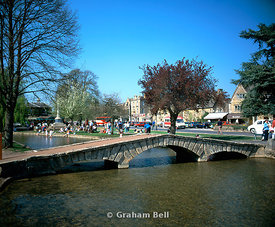 bourton on the water, cotswolds, gloucestershire.