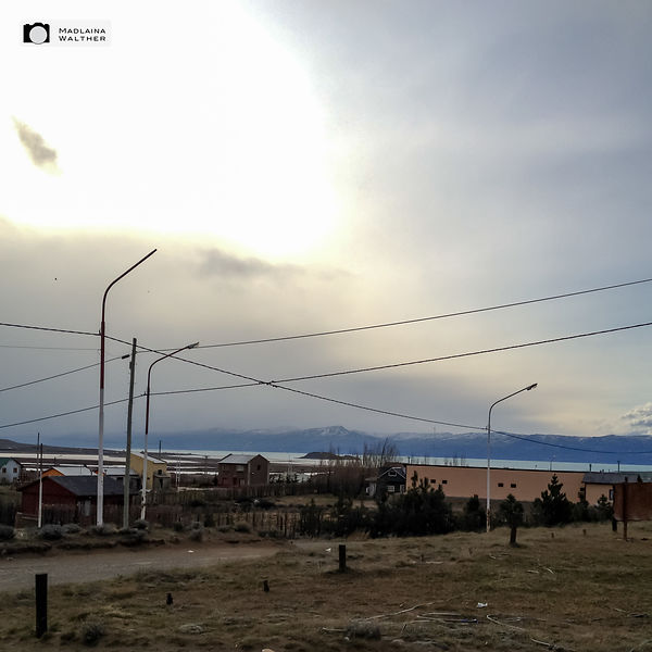 View from the hostel at El Calafate