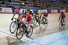 U17 Women Keirin Final. Ontario Track Provincial Championships, March 6, 2016
