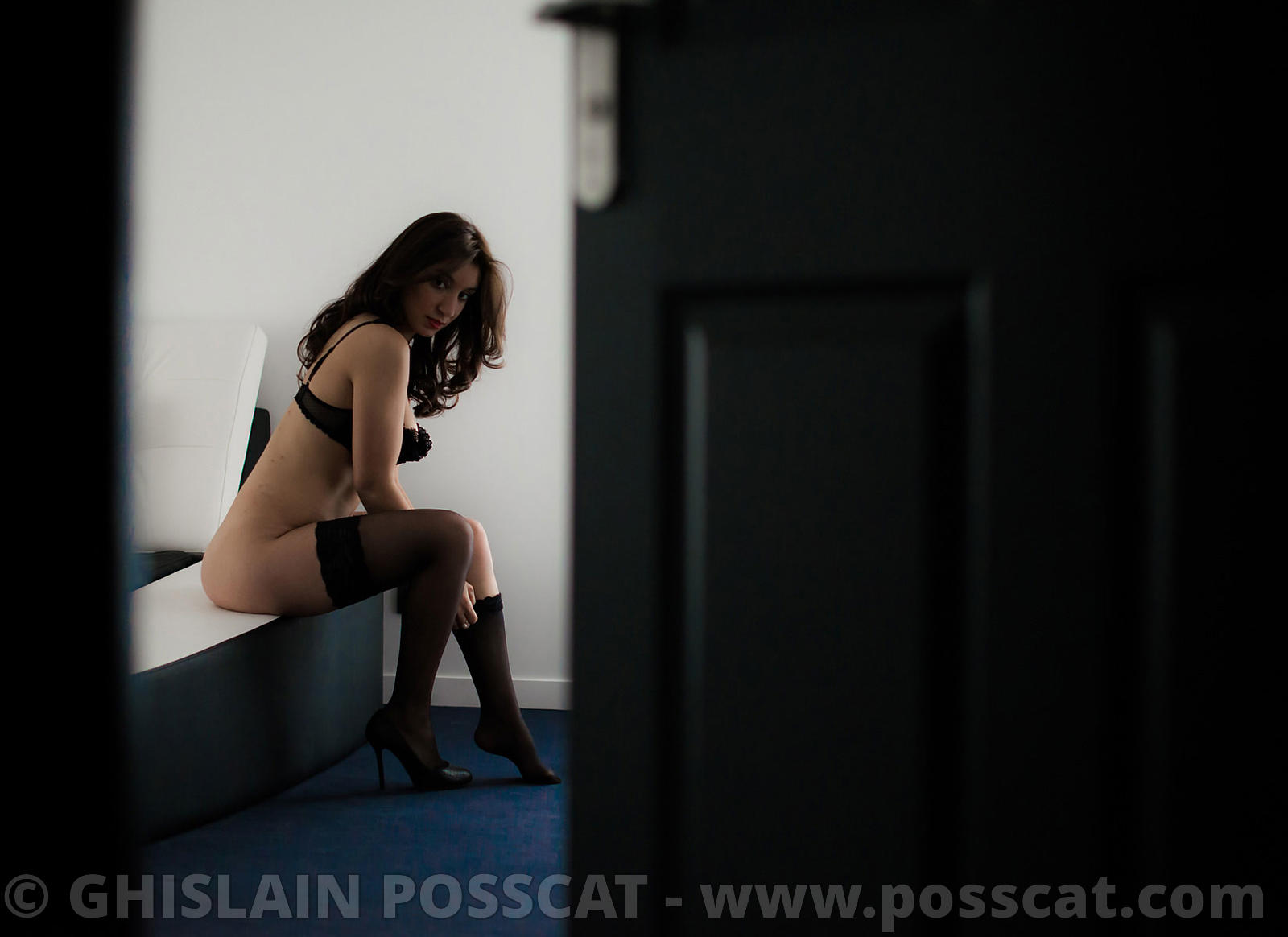 Photographe de charme Paris- Shooting photo charme en lingerie paris