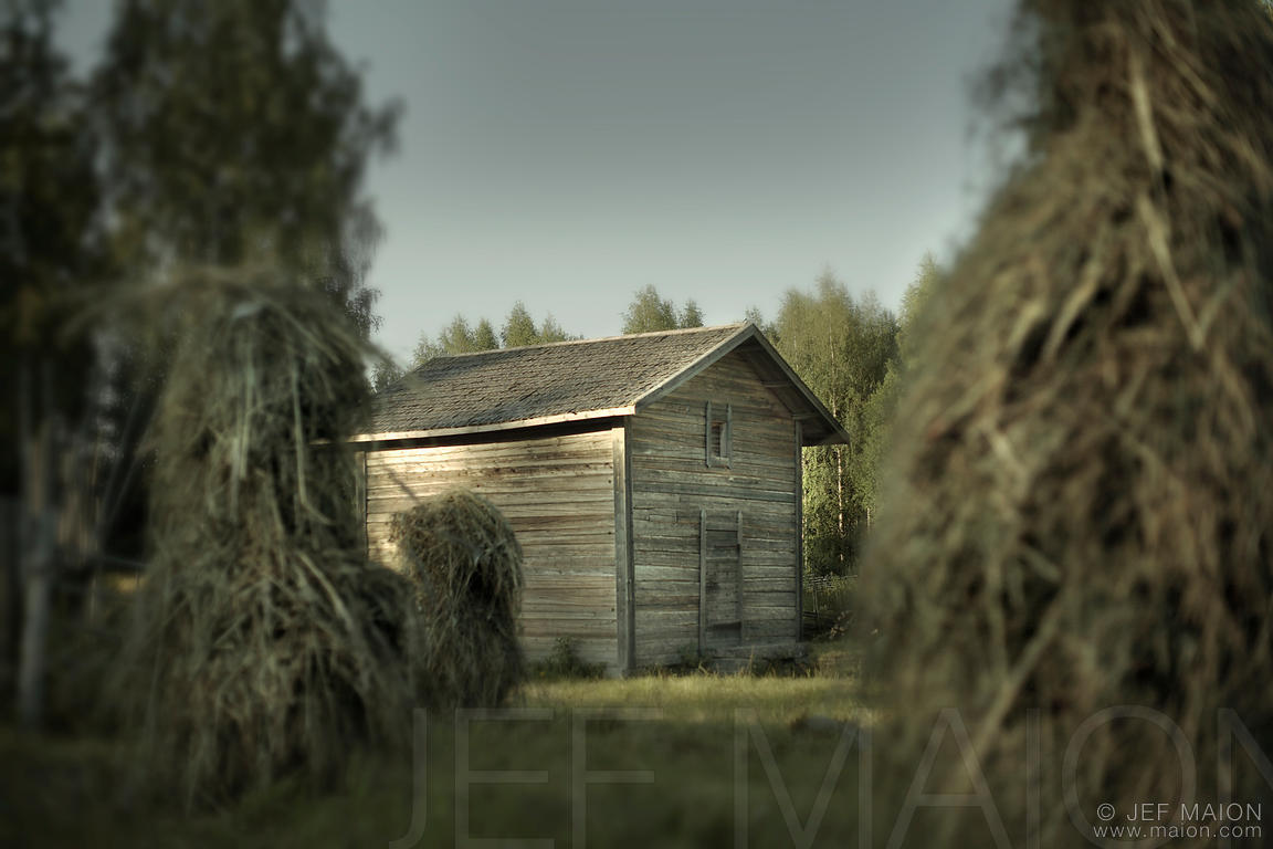 Old traditional barn
