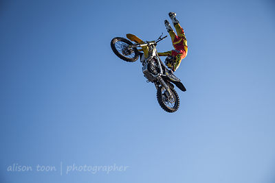 Freestyle Motocross at the State Fair