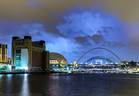 Lightning on the Tyne