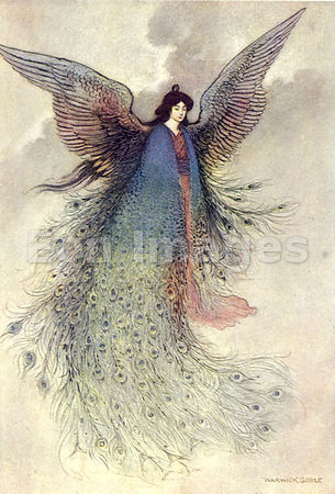 The Moon Maiden by Warwick Goble