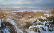 Winter View of Hilbre Island