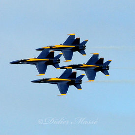 Patrouille des Blue Angels San Francisco Californie 10/12