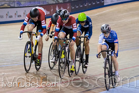 U17 Men Keirin 1-6 Final, 2017/2018 Track Ontario Cup #3, Mattamy National Cycling Centre, Milton On, February 10, 2018