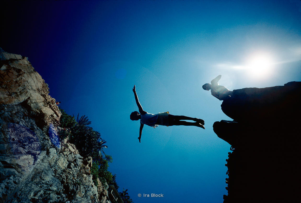 Cliff diving, Acapulco