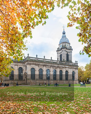 St Philip's Cathedral, Colmore Row, Birmingham