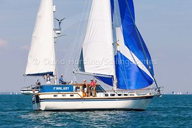 Finnlady during the Round the Island Race 2018, 20180707821