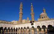 Al-Azhar mosque, Islamic Cairo, Egypt
