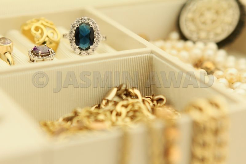 Jewelry in a box