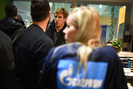 Daniil SHISHKAREV of Vardar during the Final Tournament - Final Four - SEHA - Gazprom league, team arrival in Varazdin, Croatia, 30.03.2016, ..Mandatory Credit ©SEHA/Nebojša Tejić