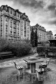 Garden Paul Didier Paris 17th
