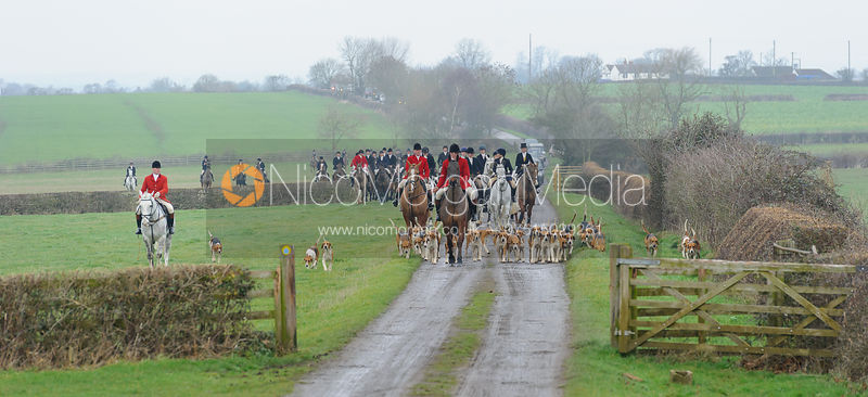 The Belvoir Hunt at Sheepwash 31/12 photos