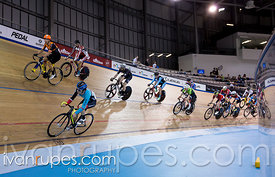 Elite/Master A Men Scratch Race. Ontario Track Championships, March 2, 2018